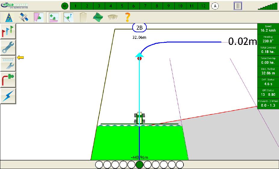 Fieldmaster GPS system